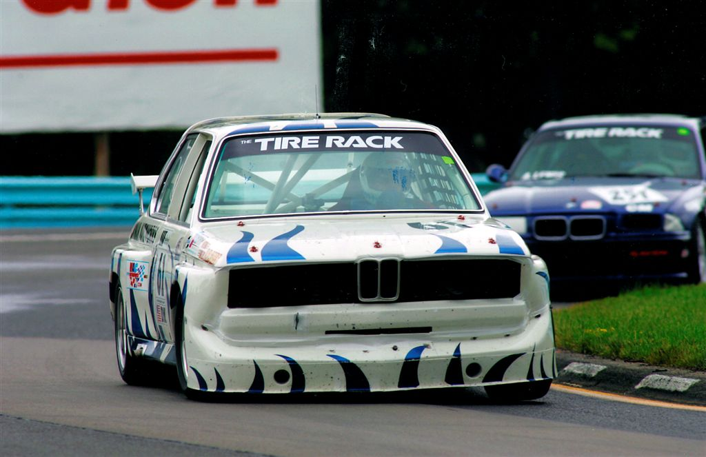 328iS race cars prepared by Korman Autoworks to the 1997 BMW CCA